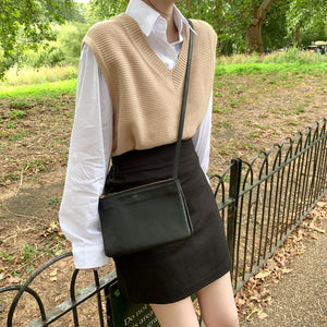 Solid Loose Knitted Vest