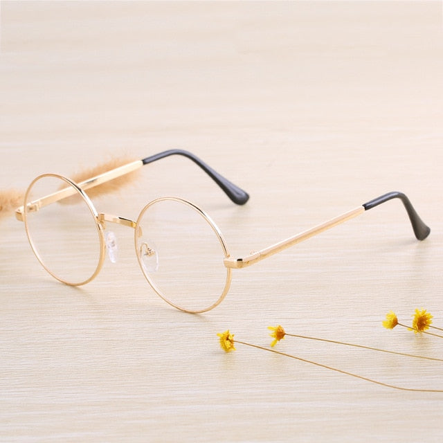 Must Have Everyday Retro Round Glasses