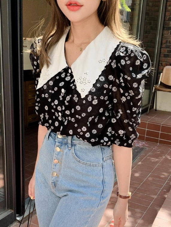 Meant To Be Floral Blouse