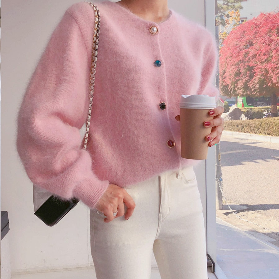 Sweet Cashmere Cardigan Sweater