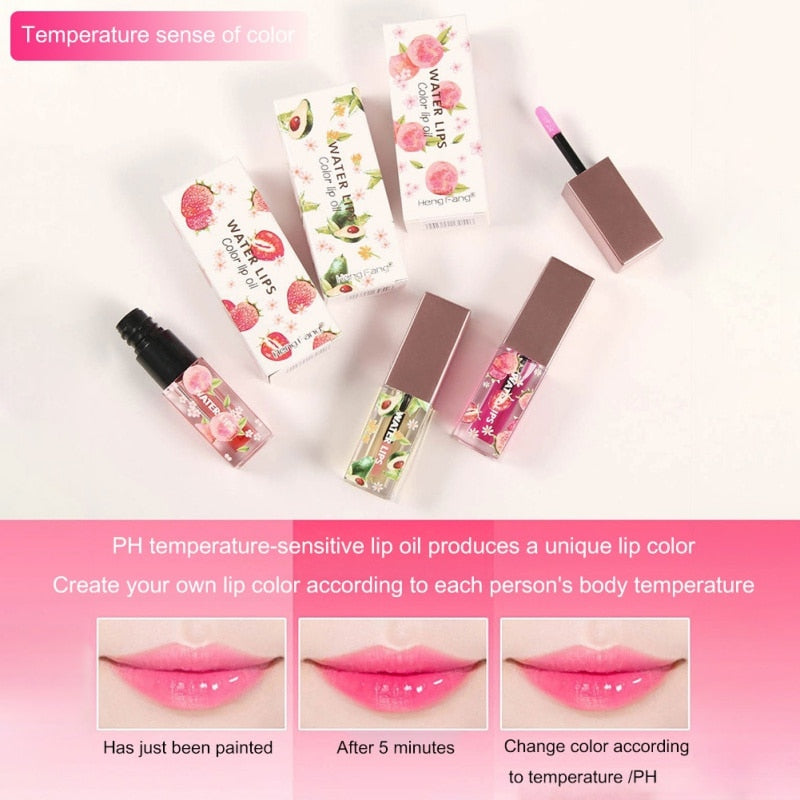 Water Lips - Nourishing Color Changing Lip Oil Tint