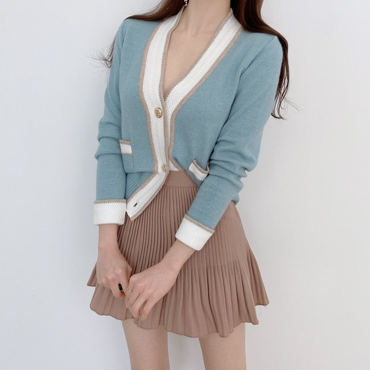 Crazy Over You Knit Cardigan