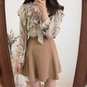 Spring Love Floral Blouse