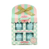 Creamery 4 x 45g Cupcake Bath Fizzers Set Collection