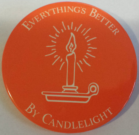 "3"" Candlelight Button"