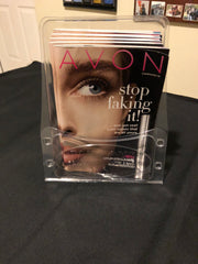 "6"" Plastic Brochure Holder"