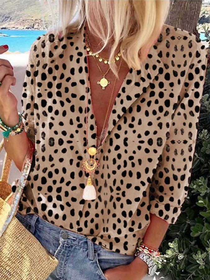 Women's Casual Print Blouses