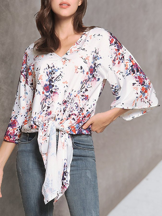 3/4 Sleeve Casual Shirts & Tops