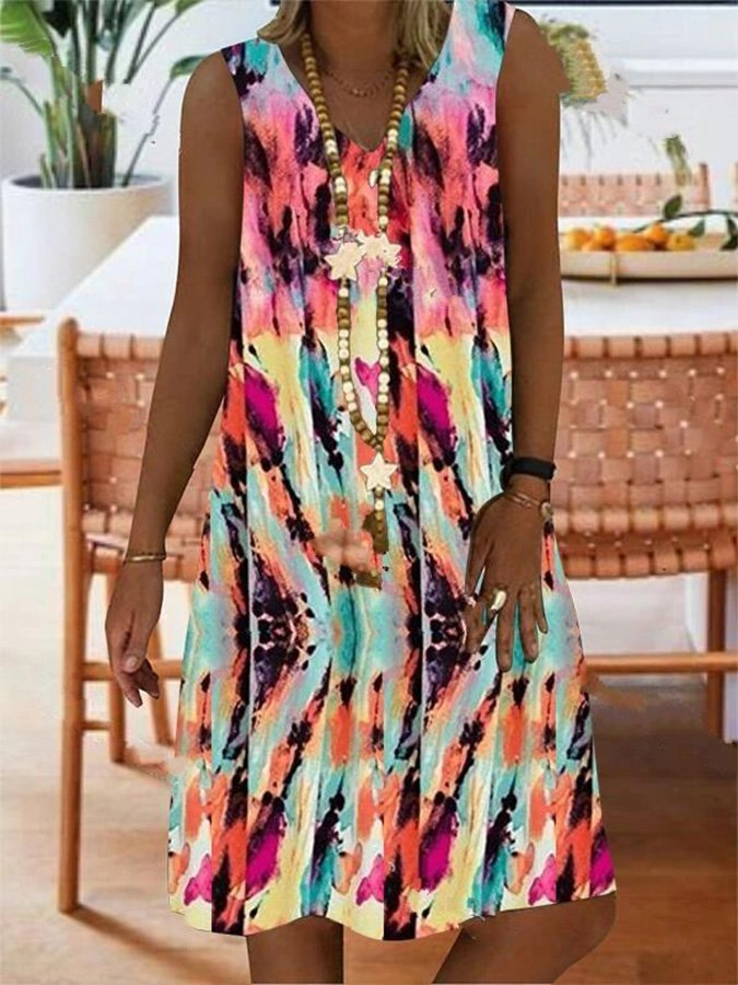 Women's Casual Print Dress