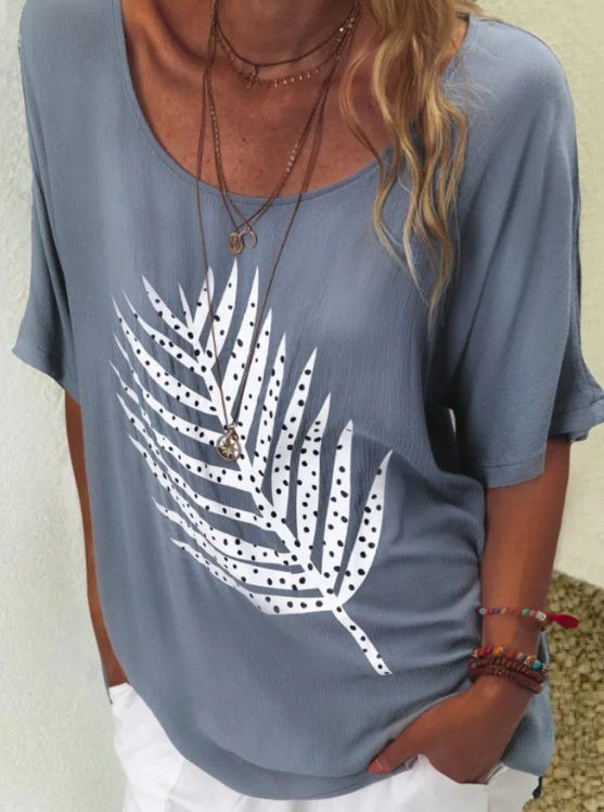 Printed Casual T-shirt