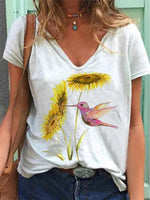 Women's Casual Print T-Shirt
