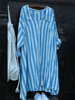 Striped Casual long Dress