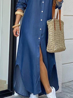 4 Square Neck Long Sleeve Dresses