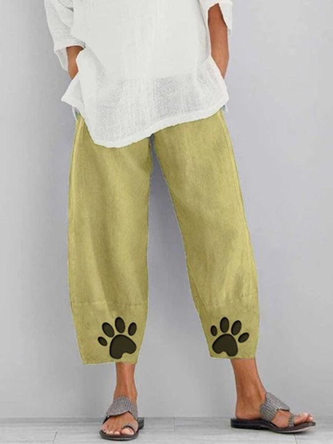 Shift Animal Casual Pants