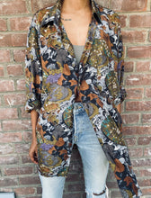 Load image into Gallery viewer, Vintage Printed Silk Blouse