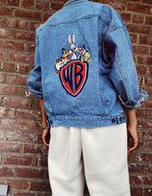 Load image into Gallery viewer, Vintage 90's LooneyTunes Denim Jacket