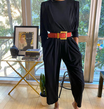 Load image into Gallery viewer, Vintage Liz Claiborne Classic Black Jumpsuit