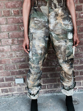 Load image into Gallery viewer, Vintage Hand Painted Camo Surplus Pant