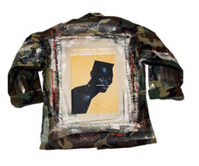 Load image into Gallery viewer, VINTAGE CAMO MIXED MEDIA GRACE JACKET