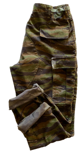 Vintage Adjustable Abstract Camo Pant