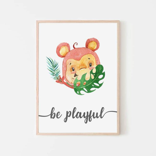 Animal Jungle Quotes - Monkey
