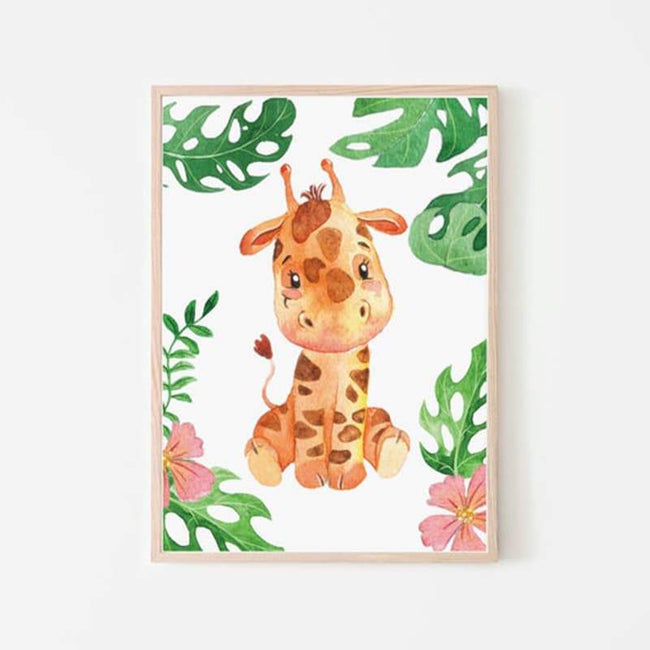 Animal Safari Giraffe