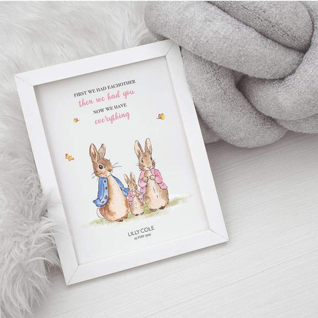 Peter Rabbit - Pink, Then We Had You