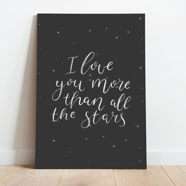 To The Moon - Handwritten Love You More