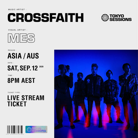 LIVE STREAM TICKET - ASIA/AUS