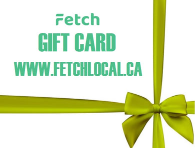FETCH LOCAL GIFT CARD