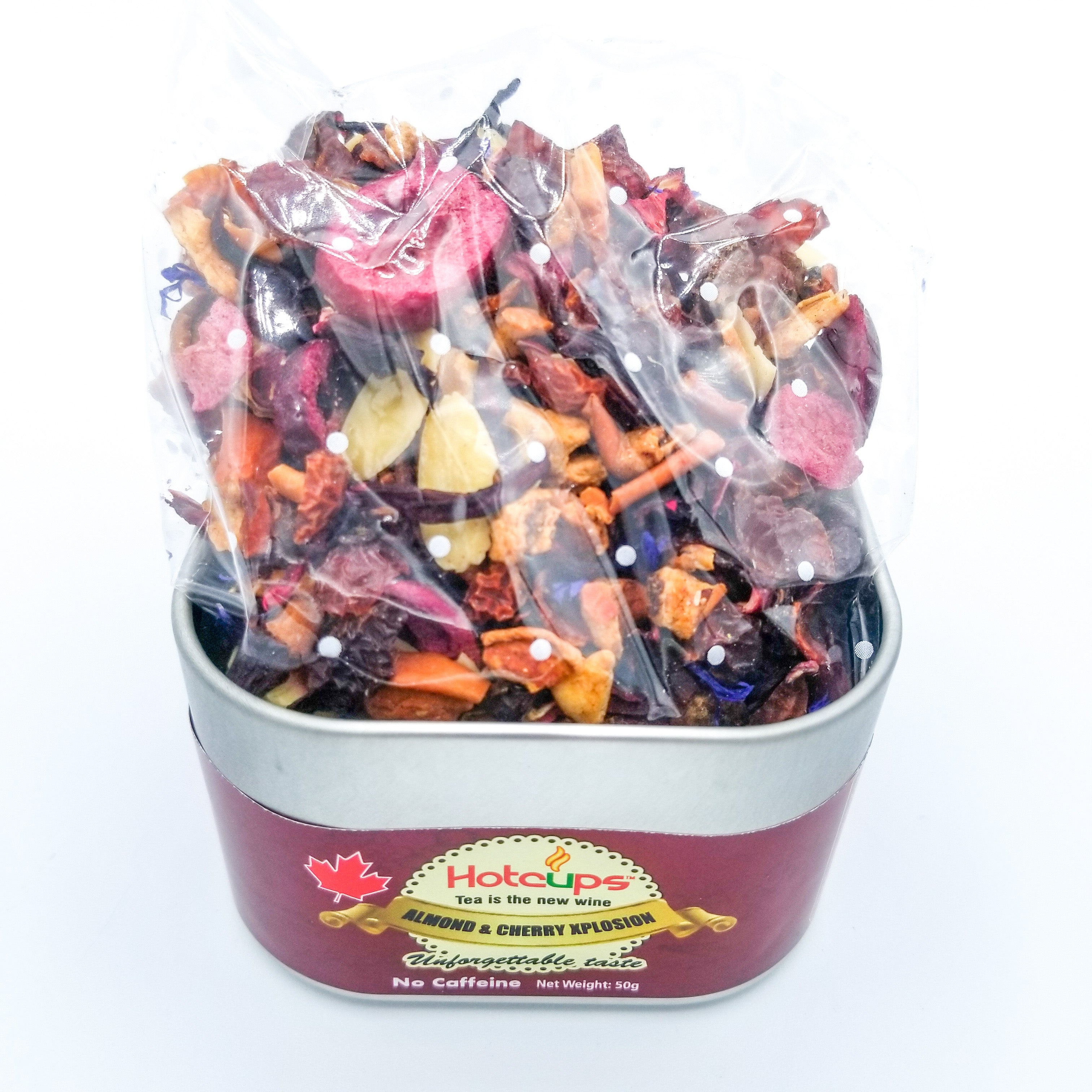 Almond & Cherry Explosion Tea 50G by Hot Cups