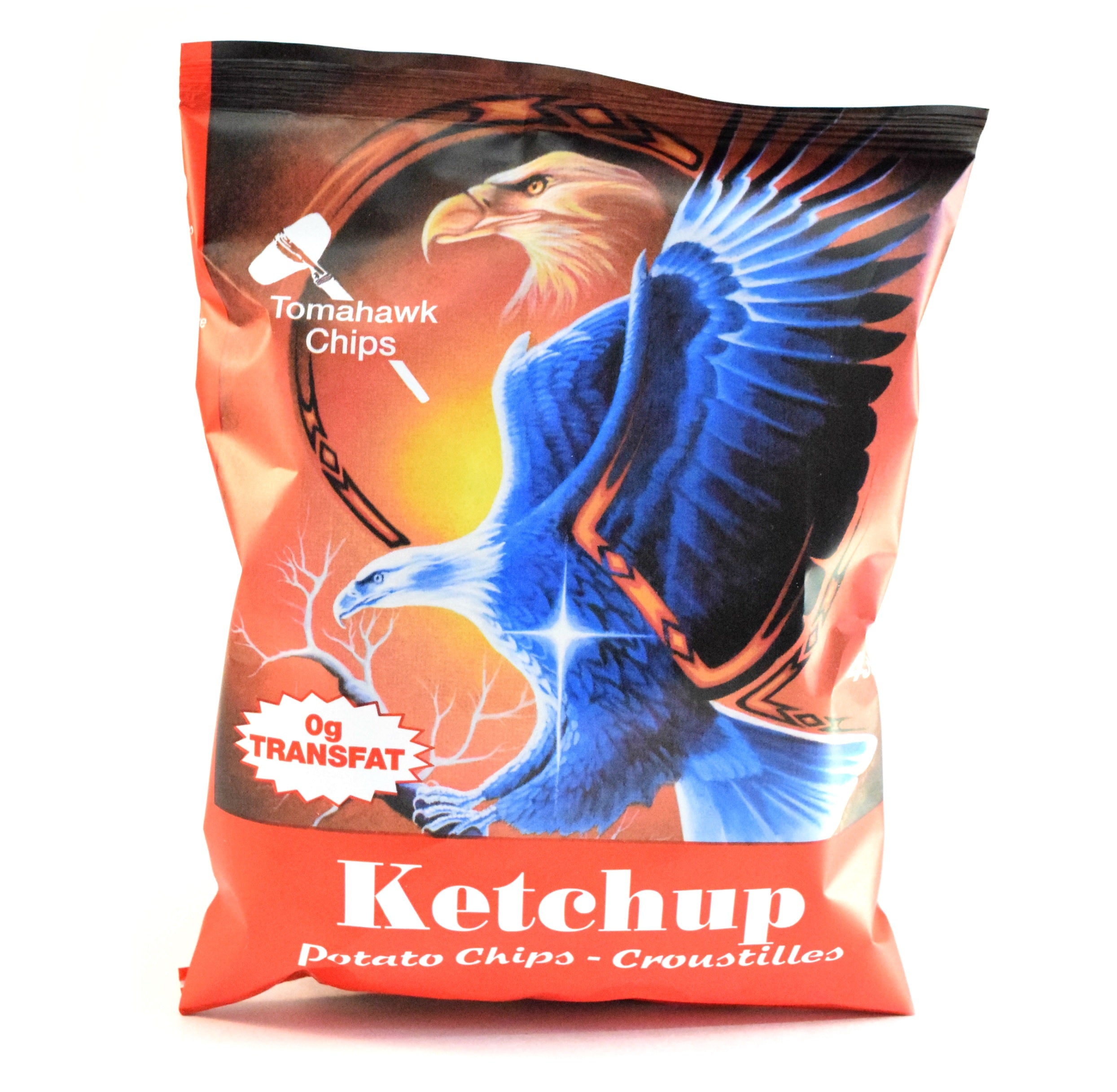 Ketchup Potato Chips 43g by Tomahawk
