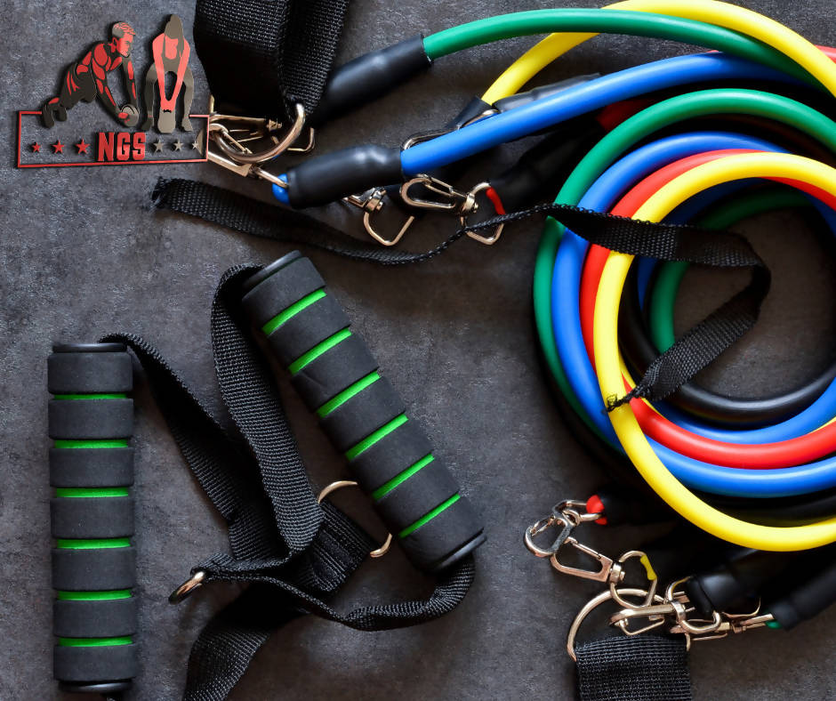 The Ultimate Resistance Bands, 5 resistance in 1