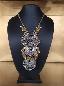 Silver-Gold Necklace