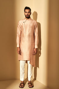 Sand Rose Silk Kurta Set