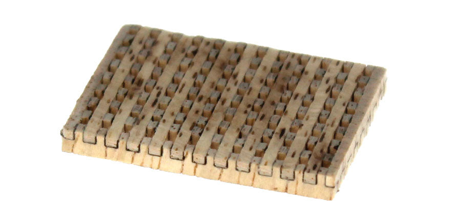 Gratings, tweezers, brushes and clamps