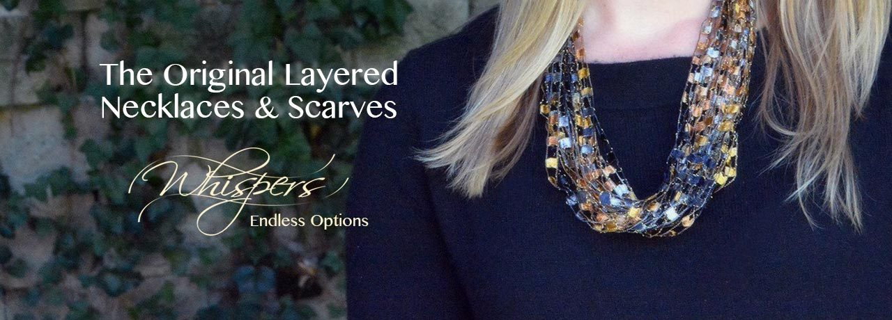 The Original Layered Necklaces & Scarves