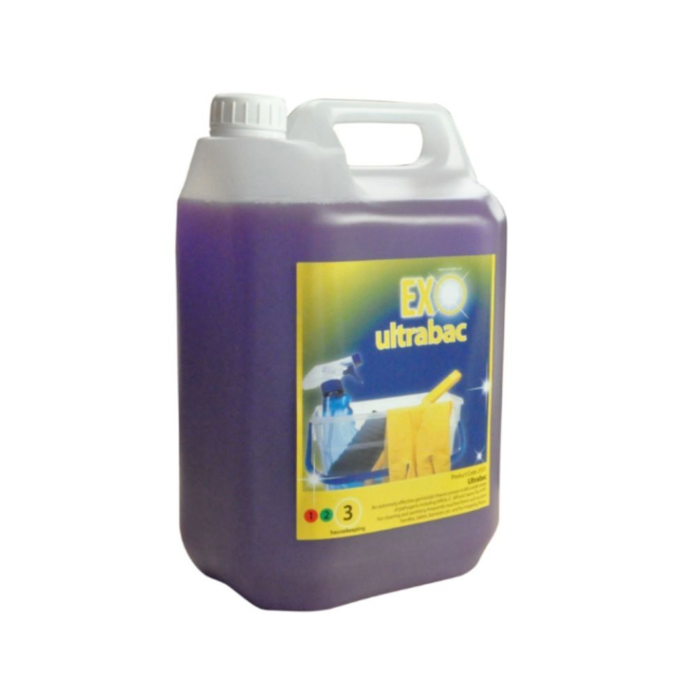 5L Ultrabac Disenfectant Solution - Kills viruses