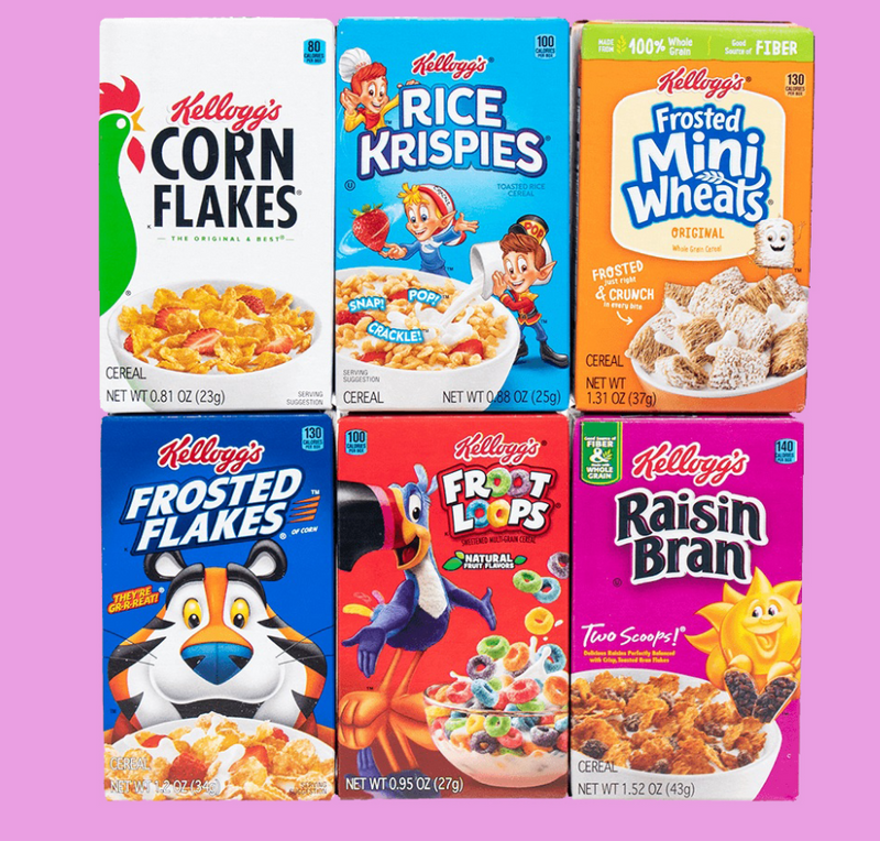 Why are Kellogg's Cereal products so Popular in America?