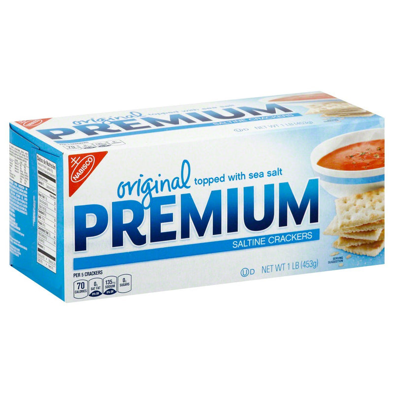 Nabisco Premium Original Saltine Crackers 454g