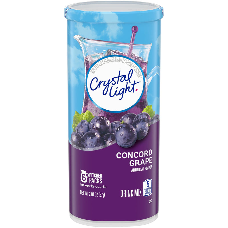 Crystal Light Concord Grape Drink Mix 57g