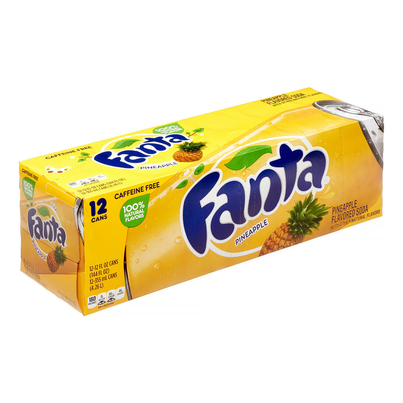 Fanta Pineapple Flavoured Soda 355ml