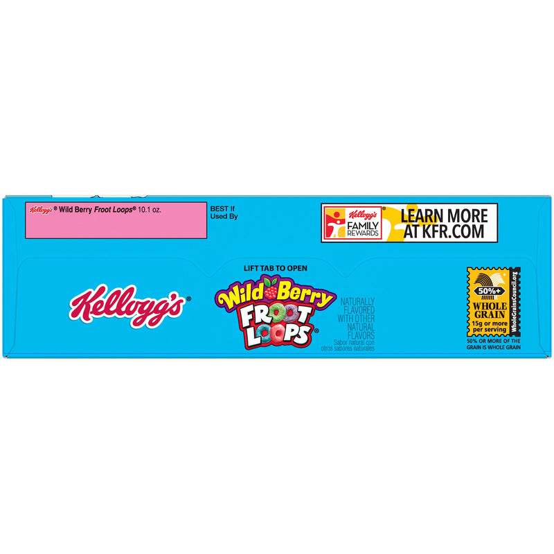 Kellogg's Froot Loops Wild Berry Cereal 286g