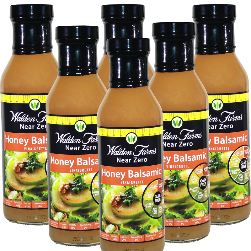 Walden Farms Low Calorie Honey Balsamic Vinegar Dressing 355ml