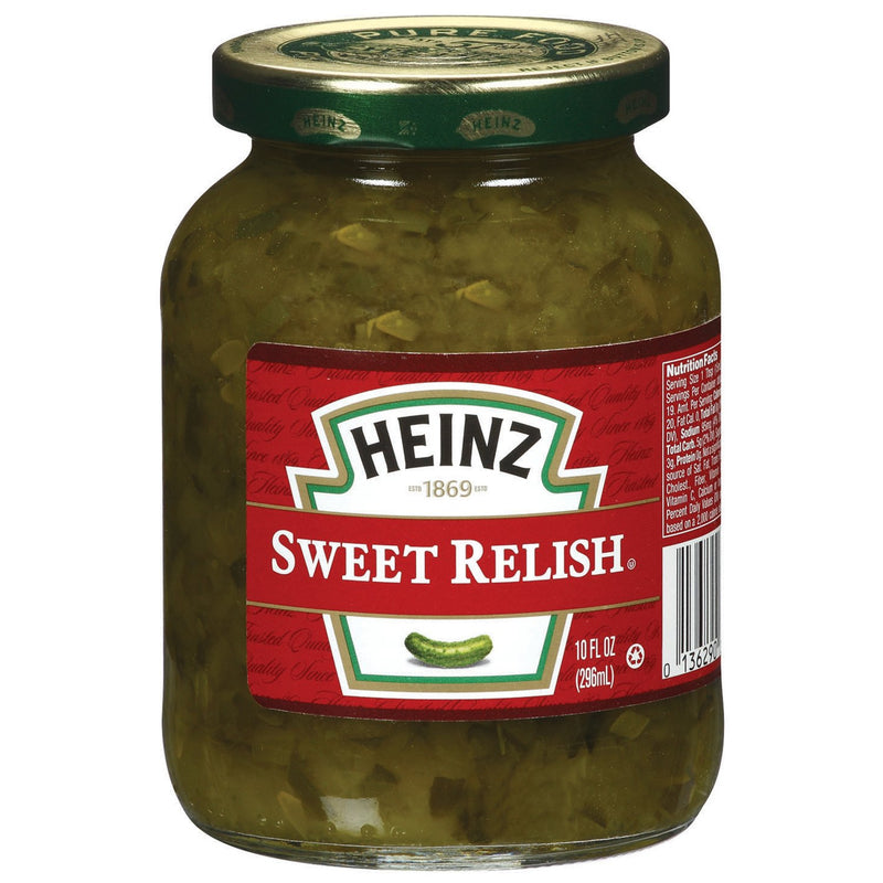 Heinz Sweet Relish 296ml-Glass Jar