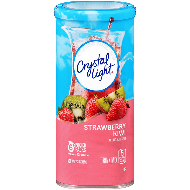 Crystal Light Strawberry Kiwi Drink Mix 65g