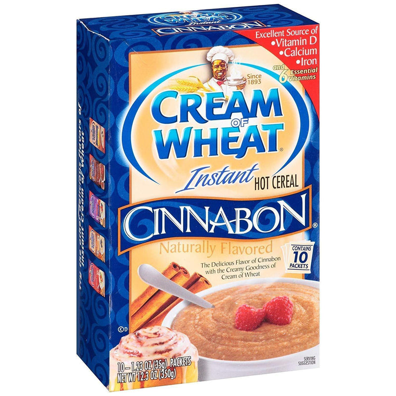 Cream of Wheat Instant Cinnabon Hot Cereal 350g