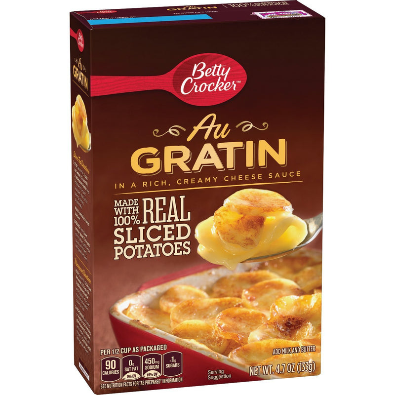 Betty Crocker AU Gratin Sliced Potato 131g