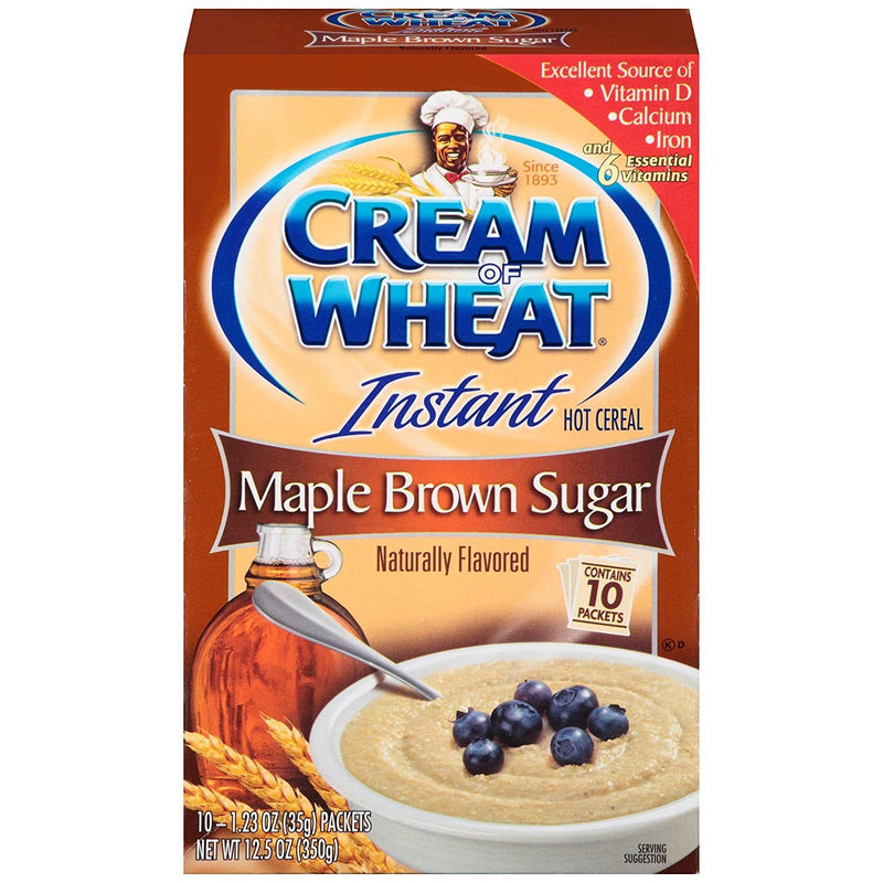 Cream of Wheat Instant Maple Brown Sugar Hot Cereal 350g
