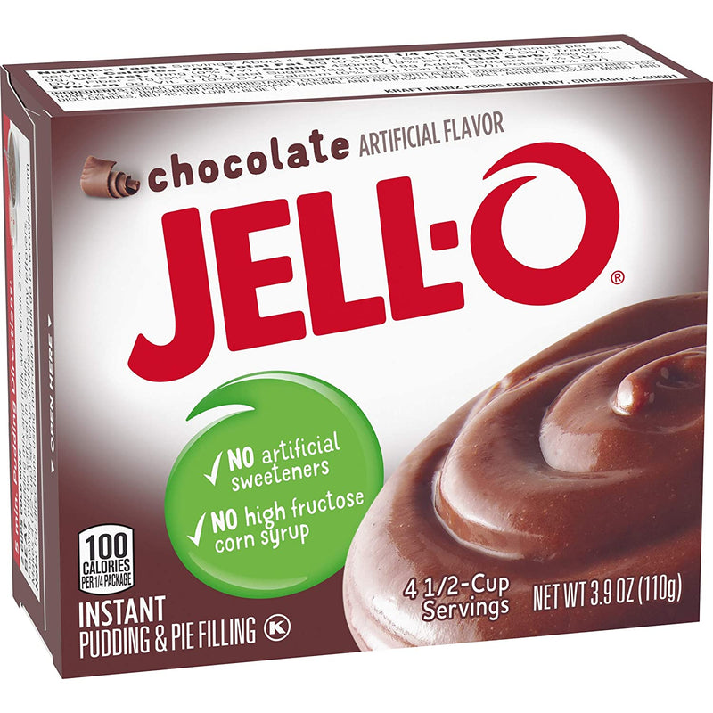 Jell-O Instant Chocolate Pudding & Pie Filling 110g